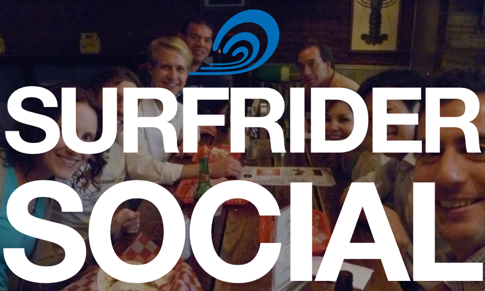 Surfrider Social this Wednesday