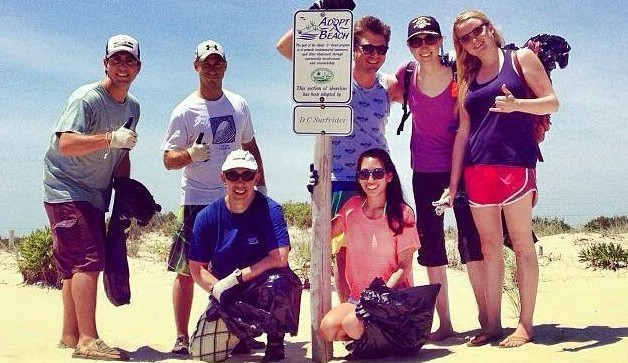 Delaware Beach Cleanup & Surf